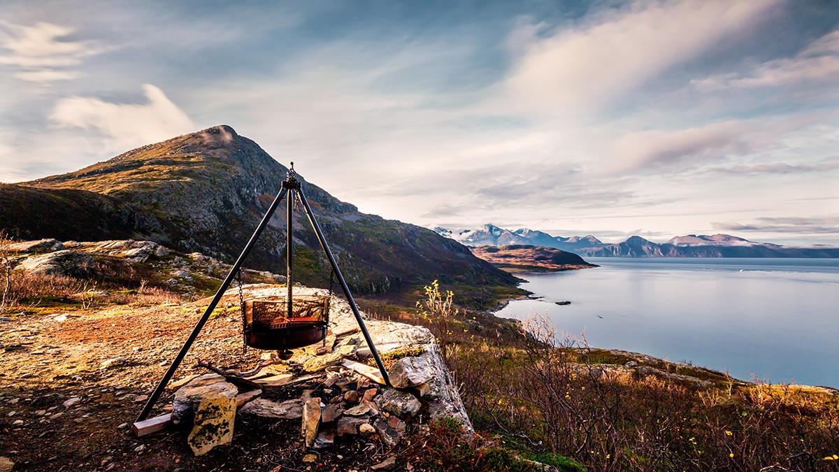 Scenic and idyllic campground. Photo: Erwin Pietz